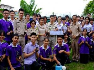 ข่าวประชาสัมพันธ์ : ผู้อำนวยการโรงเรียนสาร่วมปลูกต้นไม้เนื่องในวันต้นไม้แห่งชาติ