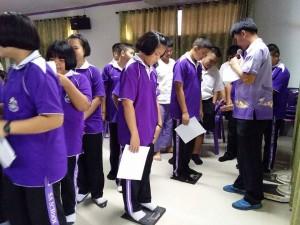 """ข่าวประชาสัมพันธ์ : โครงการ สร้าง เสริม สุข สู่นักเรียนโรงเรียนสา """"การอบรมจัดการน้ำหนักเด็กวัยเรียน"""""""